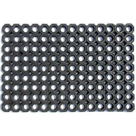 Black Rubber Doormat by Black Hollow Rubber Door Mat Rs 120 Mk Decors