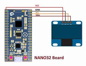 Oled Ssd1306 Pin Scl To Esp32 Gpio 22