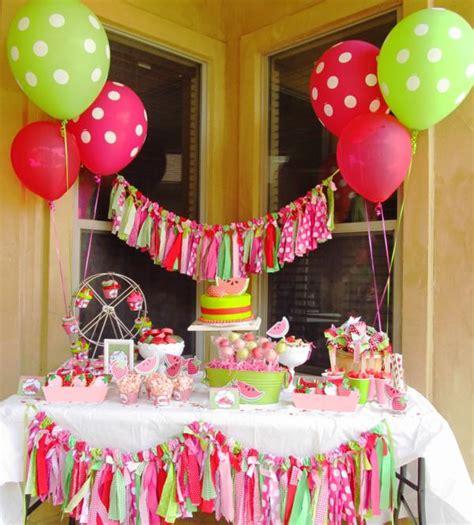kara 39 s party ideas pink lemonade girl summer 1st birthday kara 39 s party ideas watermelon and strawberry summer party