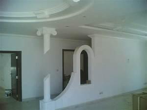 Decoration Faux Plafond : cuisine decoration faux plafond faux plafond platre tunisie d co decor plafond ba13 d cor ~ Melissatoandfro.com Idées de Décoration