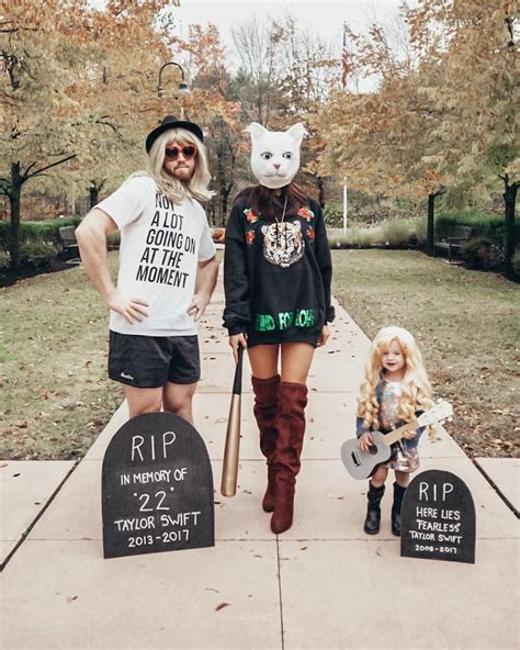 Taylor Swift Halloween Family Costume / Reputation Stadium ...