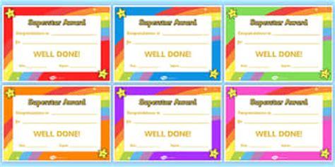 certificates primary resources certificates awards reward