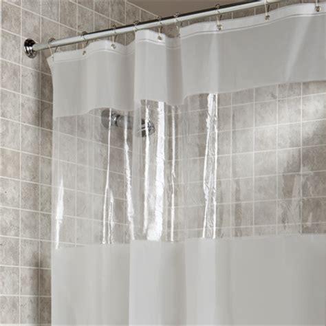 hitchcock window eva vinyl shower curtain bedbathhomecom