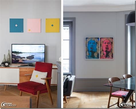 Colori Per Appartamenti Interni Appartamento Neo Borghese In Francia E Interni