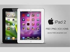 Apple iPad 2 PSD PNG ICO ICNS by davinci1993 on