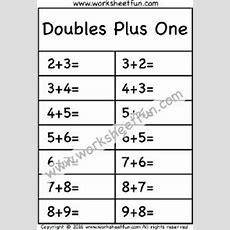 28 Best Images About Doubles & Doubles Plus One On Pinterest  Equation, Addition Worksheets And