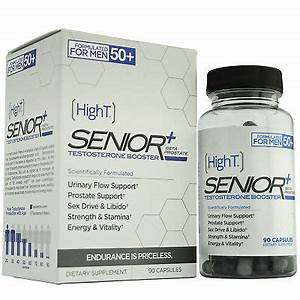 High T Senior Testosterone Booster Supplement  90 Capsules  X2 45ct
