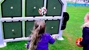 ShotSpot Interactive Wall Challenges Shooting Skills ...