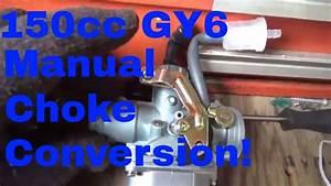 Hammerhead  150cc Gy6 Electric Choke Issues  Easy  20