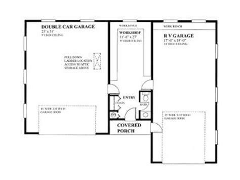 Boat Workshop Plans by Boat Storage Garage Plans 2 Car Boat Storage Garage Plan