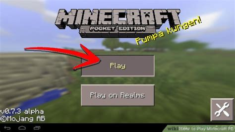 How To Play Minecraft Pe (with Pictures) Wikihow
