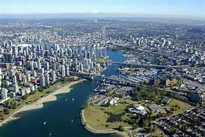 Vancouver Harbor in Vancouver, BC, Canada