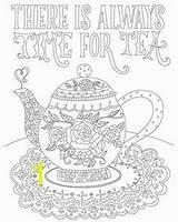 Kettle Coloring Tea Divyajanani sketch template