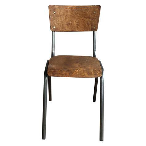technique de la chaise chaise d 39 ecolier style vintage industriel demeure et jardin