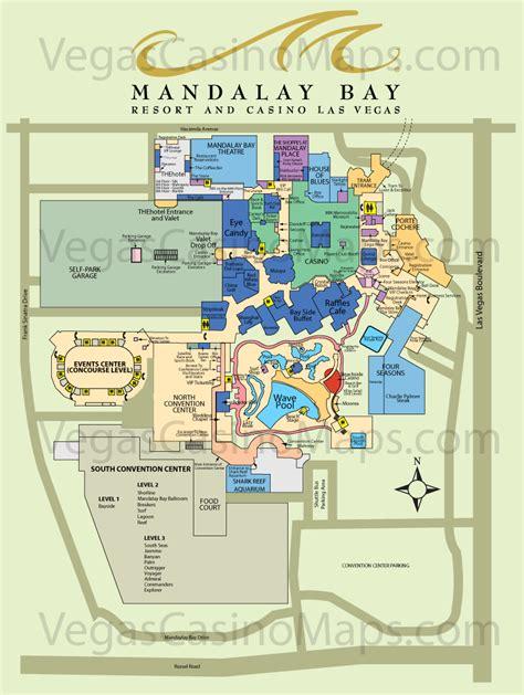 Mandalay Bay Floor Plan Map by Mandalay Bay Property Map