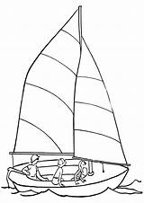 Sail Pages Coloring Sail3 sketch template