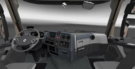 renault interior renault t new interior v6 0 ets 2 mods ets2downloads