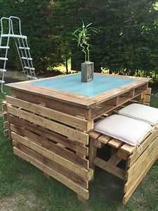 Table Et Banc De Jardin : table et bancs de jardin en palettes pallet garden table and bench 1001 pallets ~ Teatrodelosmanantiales.com Idées de Décoration