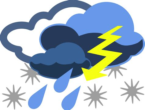 weather clip for preschool warm and cool clipart 835 | weather clip art inclement weather Vector Clipart