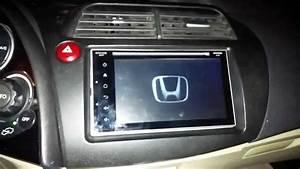 Honda Civic Hb 2006 2011 Android Double Din Montaj U0131