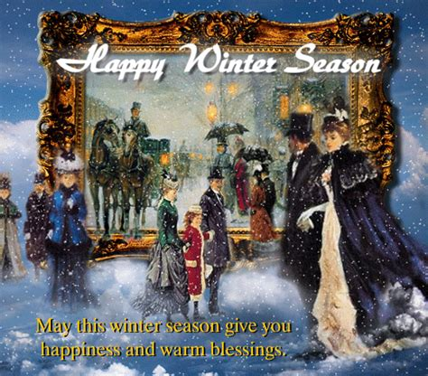 happy winter season  happy winter ecards greeting cards