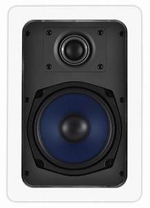 In, Wall, Speakers, Iw530, 5, 25, U0026quot, 100w, Pair, Osd, Audio
