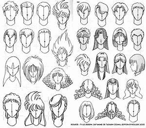 Coiffure Manga Garçon : comment dessiner des cheveux ~ Medecine-chirurgie-esthetiques.com Avis de Voitures