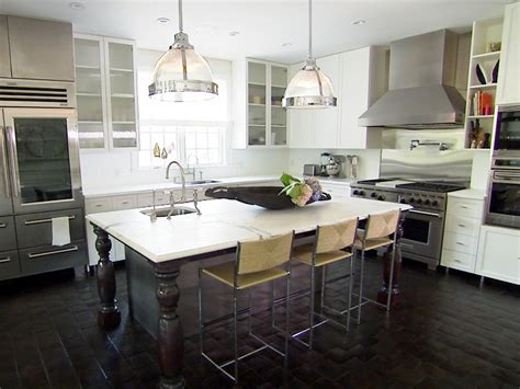 eat on kitchen island peninsula kitchen design pictures ideas tips from hgtv 7023