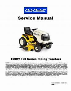 2005 Cub Cadet Tractor Service Repair Manual Lt1042 Lt1045