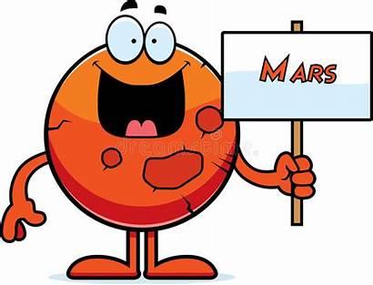 Mars Cartoon Sign Planet Clip Clipart Holding