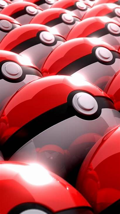 Mobile Pokemon Wallpapers Iphone Pokeball Pokeballs Phone