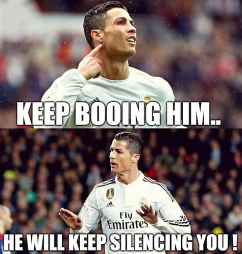 Cristiano Ronaldo Meme - fans react best memes after real madrid beat barcelona in the el clasico