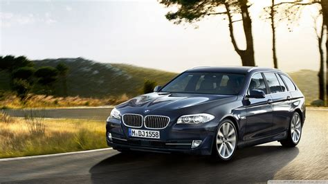 Mobil Bmw 5 Series Touring by Bmw 5 Series Touring F11 Exterior Design Front