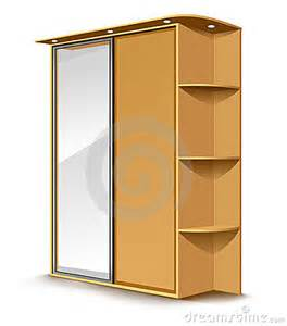 Ikea Lamp White by Vector Wooden Wardrobe Mirror Royalty Free Stock Photo