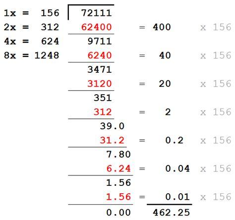 long division  decimals  dividend worksheets