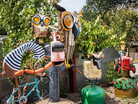 Sebastopol's Quirky Junk Sculptures