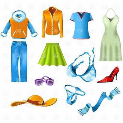Clothes Clip Clipart Clothing Cloth Woman Cliparts