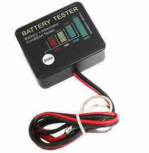 Alternator Load Tester  U002612 Volt Auto Onboard Battery With