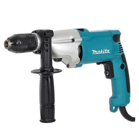 makita hp2051 13mm 720w 2 speed percussion drill with keyless 110v