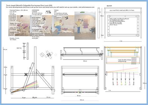 wood weaving loom plans  plans