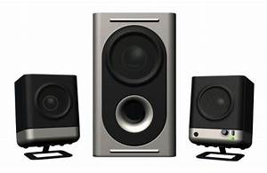 New Altec Lansing 221 Amplified Speaker System 21986940630