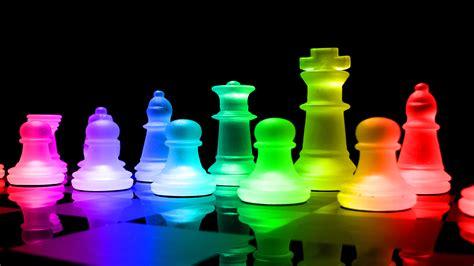 rainbow chess wallpaper  background image