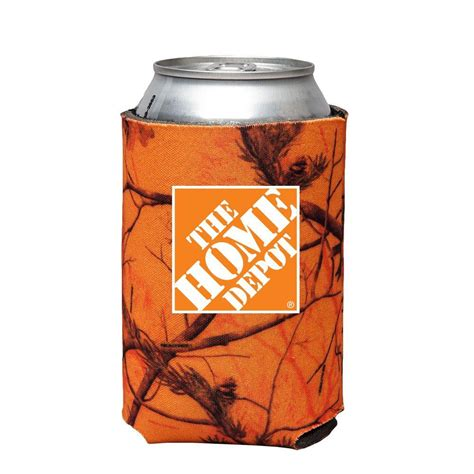 home depot orange the home depot can cooler in orange camo 1301622 00 the home depot