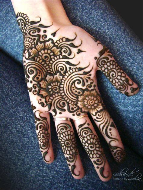 simple easy eid mehndi designs   latest collection