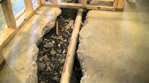 basement bathroom sewage ejector pump system youtube