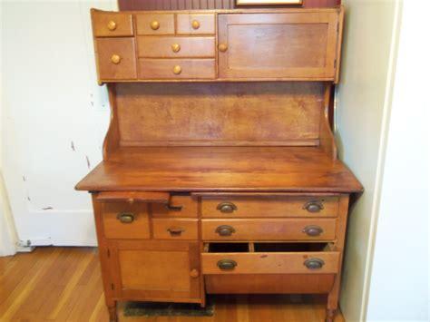 antique kitchen storage deposit christine only vintage bakery baker s table 1284
