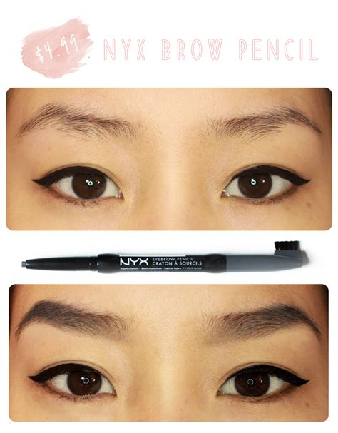 nyx eyebrow pencil be linspired nyx eyebrow pencil review photos