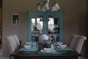 Hometalk Dining Room China Cabinet Makeover
