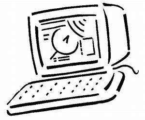 Computer Line Art - Cliparts.co