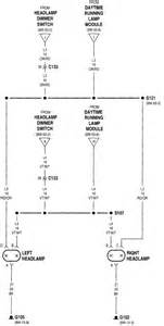 Could I Get A Wiring Diagram For The Headlight Circuit In